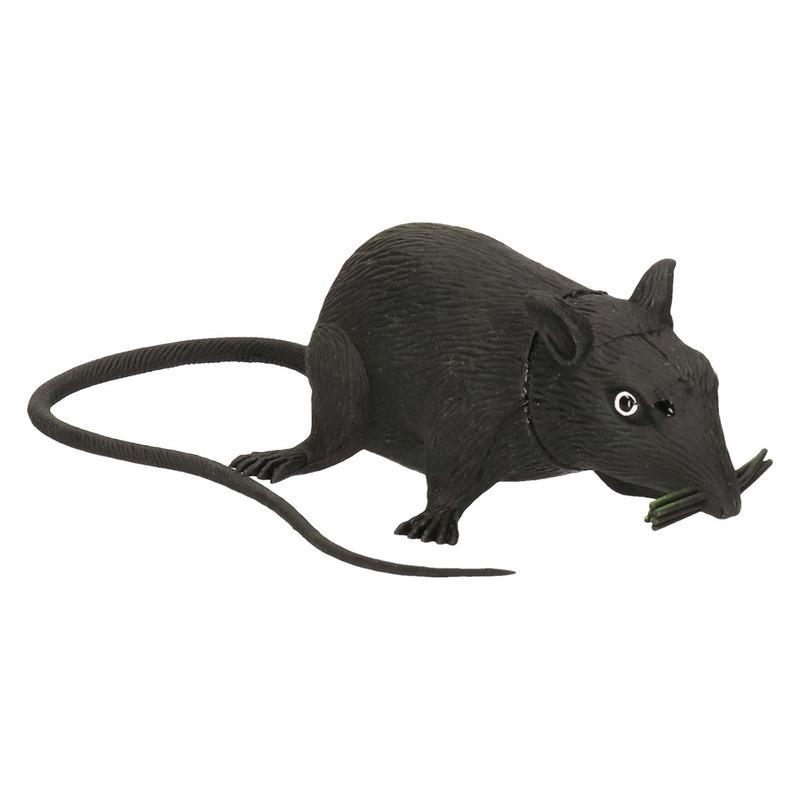 Halloween Straatversiering.Piepende Rat Halloween Decoratie 13 Cm Oranjediscounter Nl